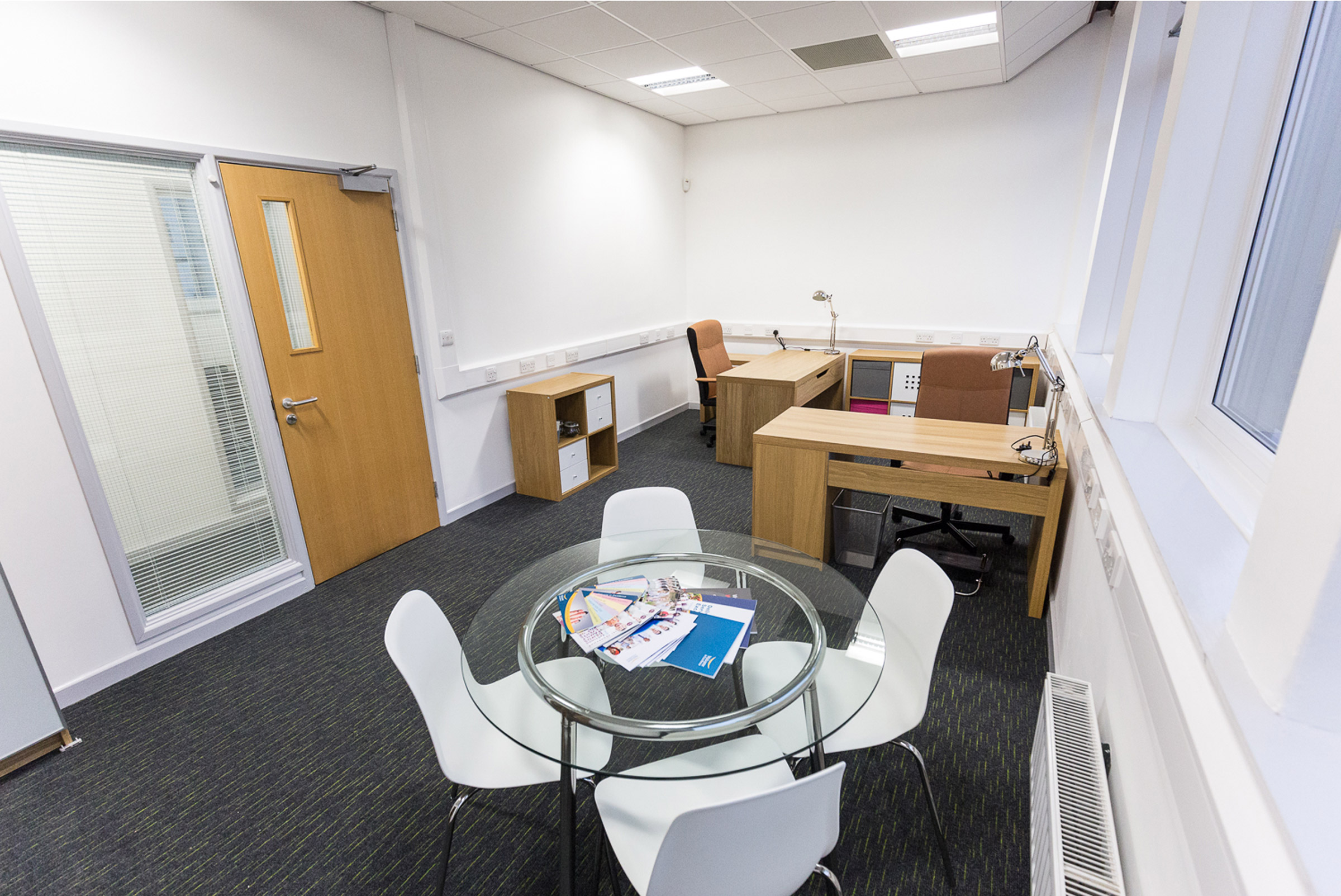 Office suite interior at The MintWorks Kendal